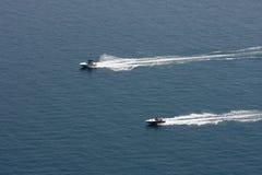 bieżne łódź motorowa Obraz Royalty Free