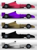 Bieżni samochody Obraz Royalty Free