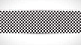 Bieżny kwadratowy tło, wektorowa ilustracyjna abstrakcja w rac ilustracja wektor