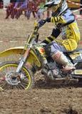 Bieżny motocross kierowca Zdjęcie Royalty Free
