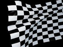Bieżna flaga ilustracja wektor