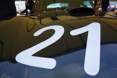 Bieżna liczba 21 Zdjęcia Stock