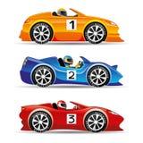 Bieżni samochody Obrazy Royalty Free