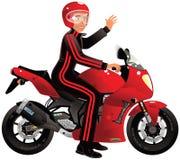 Bieżny motocykl Fotografia Stock