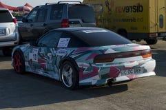 Bieżny sporta samochód po ras na Resinge ` s Wlec Zdjęcia Royalty Free