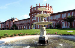 biebrich宫殿威斯巴登 免版税库存照片