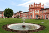 Biebrich Palace in Wiesbaden, Germany Royalty Free Stock Photo