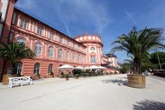 Biebrich Palast in Wiesbaden Lizenzfreies Stockfoto