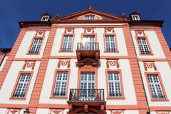 Biebrich slott i Wiesbaden royaltyfria foton
