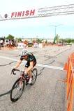 biec sprintem ulicę Zdjęcie Stock