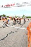 biec sprintem ulicę Zdjęcie Royalty Free