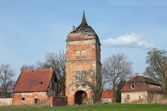 Biecz chateau in Poland Stock Photography