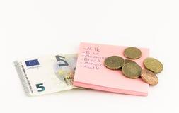 Bieda fundusze Zdjęcie Stock