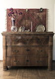 Biedermeier dresser Stock Photography