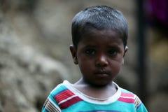 Biedna chłopiec Obraz Royalty Free