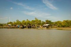 Biedna społeczność w Phuket obrazy stock