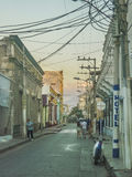 Biedna strefa w stronach zewnętrznych Santa Marta Kolumbia zdjęcia royalty free