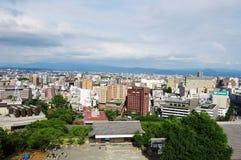 Biedne Miasto Kumamoto Obrazy Stock
