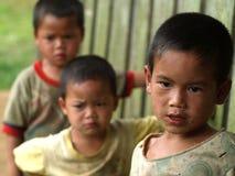 Biedni dzieci Fotografia Royalty Free