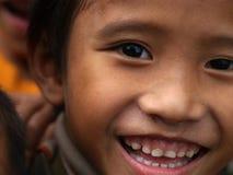 Biedni dzieci, uśmiech Obraz Stock