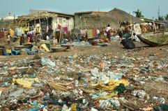 Biedny rybaków mieszkać Zdjęcie Royalty Free