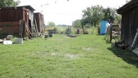 Biedny wiejski podwórze zdjęcie wideo