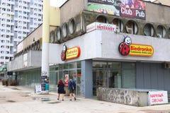 Biedronka à Wroclaw photos stock