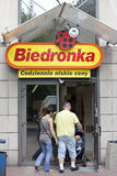 Biedronka supermarket Stock Photography