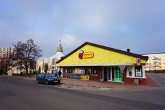 Biedronka supermarket Zdjęcia Stock