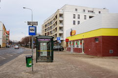 Biedronka supermarket Stock Photography