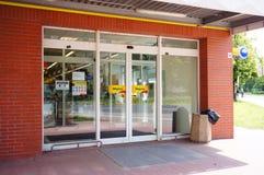 Biedronka supermarketa wejście Fotografia Royalty Free