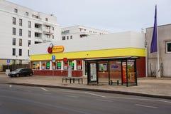 Biedronka-Supermarkt Lizenzfreies Stockbild