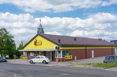 Biedronka-Supermarkt Stockbild