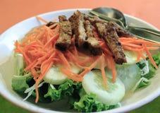 bief饮食沙拉 免版税库存照片