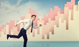 Bieg dla biznesu Obraz Stock