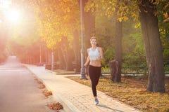 Bieg w parku Obraz Stock