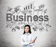 Biegać biznes zdjęcie stock