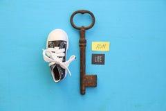 Biega jest życiem Zdrowi stylu życia i sporta pojęcia Fotografia Royalty Free