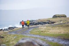 Biegać przy Faroe wyspami Obraz Royalty Free