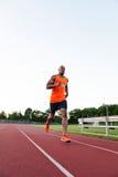 Biegać Przy śladem Obrazy Stock