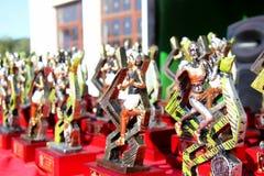 Biegać Tropheys Zdjęcia Royalty Free