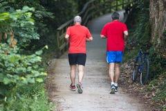 Biegać w czerwieni Zdjęcie Royalty Free