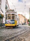 Biegać w tramwaju Zdjęcia Royalty Free