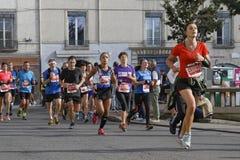 Biegać w ulicach Zdjęcie Royalty Free