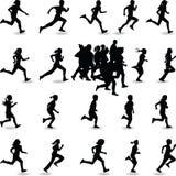 biegacz Obraz Royalty Free