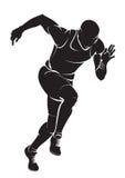 biegacz Obrazy Royalty Free