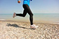Biegacz atlety bieg Zdjęcie Stock