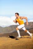 Biegacz - biegać mężczyzna Zdjęcia Stock