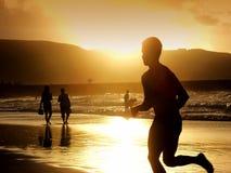 biegacz człowieka Obraz Royalty Free