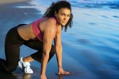 biegacz kobieta Obraz Royalty Free